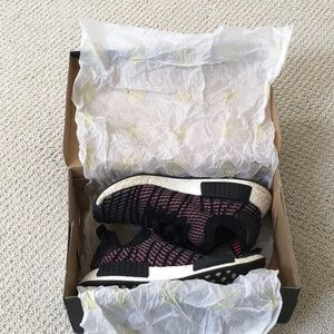 adidas Shoes - Adidas NMD R1 Black And Pink